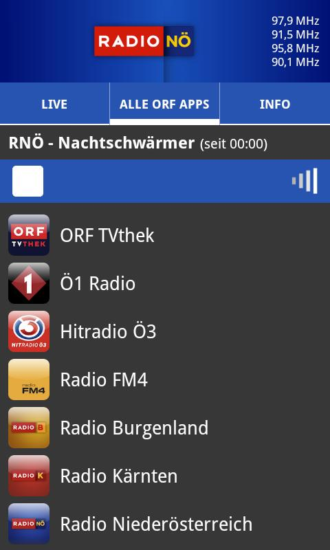 ORF Radio Niederösterreich- screenshot