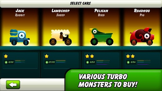 Monsters Climb Race: hill race - screenshot thumbnail
