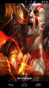 God Of War Live Wallpaper