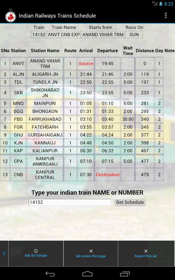Indian Railways - screenshot