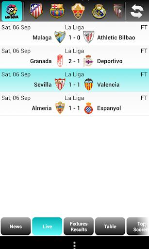 La Liga Live Score