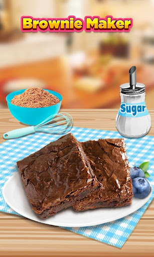 Brownie Maker: Food Salon Game
