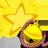 Lucky Bell Yellow -star- logo