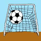 踢入球门。 icon