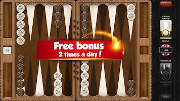 Screenshot of Backgammon Playgem