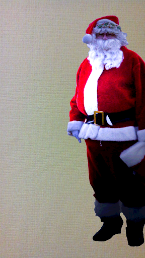 サンタとツーショット サンタが来た証拠!