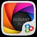 Elegant Black GOLauncher Theme APK Cracked Download