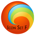 Icon Set F Go Launcher EX logo