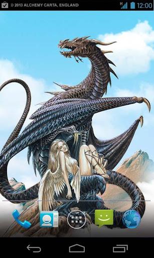 Dragon Live Wallpaper - FREE