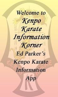 Kenpo Karate Info Lite- screenshot thumbnail