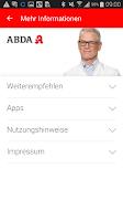 Screenshot of Apothekenfinder