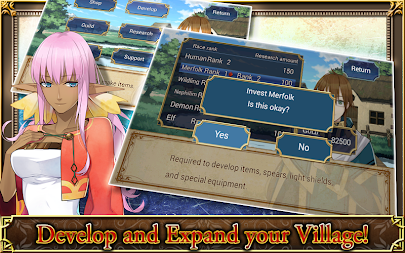 SRPG Legend of Ixtona APK screenshot thumbnail 9