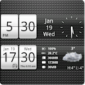 Sense Analog Small Clock 4x1 APK for Ubuntu