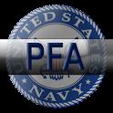 Navy PFA logo