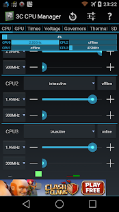 3C CPU Manager- screenshot thumbnail