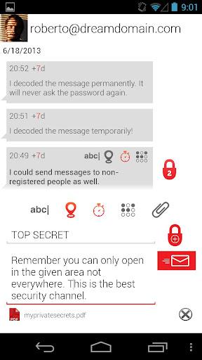 玩通訊App|Secure Send Private Messenger免費|APP試玩