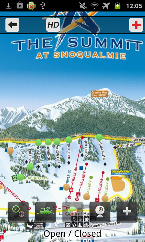 The Summit at Snoqualmie- screenshot