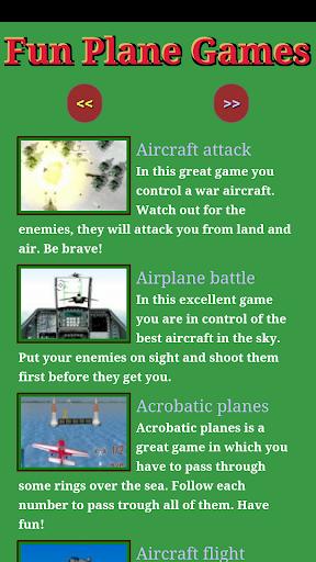 Fun Plane Games