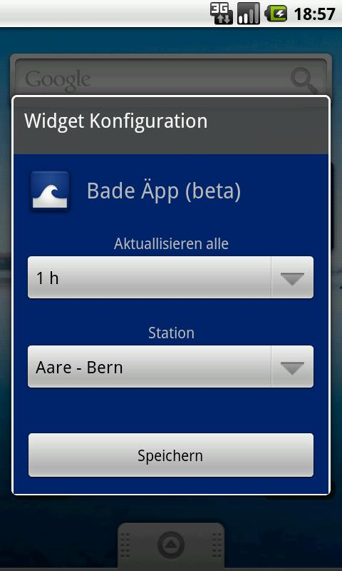 Bade Äpp- screenshot