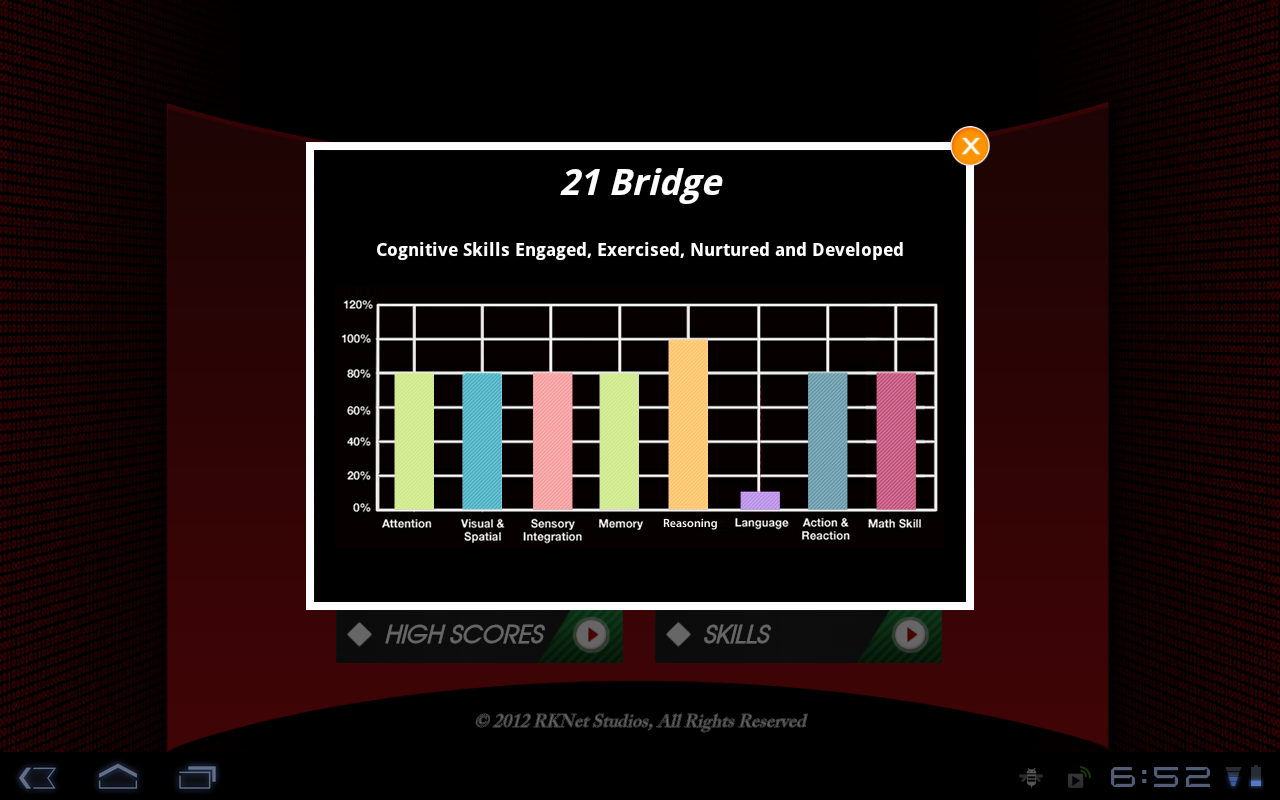 21 Bridge - screenshot