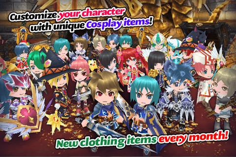 RPG Elemental Knights R (MMO) 4.1.0 screenshots 11