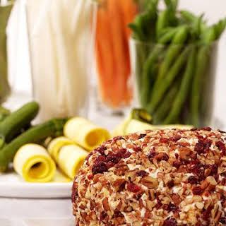 Martha's Cheddar Cheese Ball.