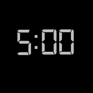 google timer 5 minutes