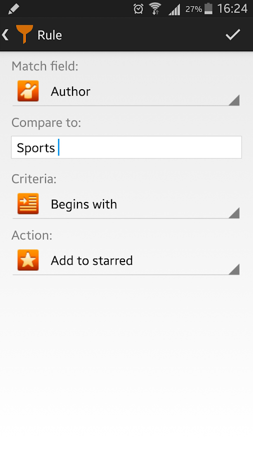 Smart Feed Reader- screenshot