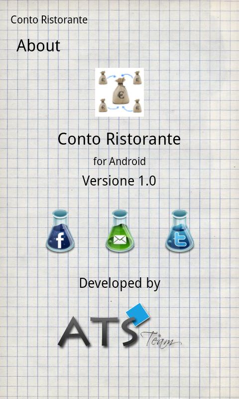 Conto Ristorante - screenshot