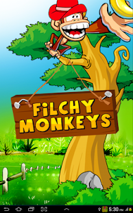 Filchy Monkeys Fun Monkey Game - screenshot thumbnail