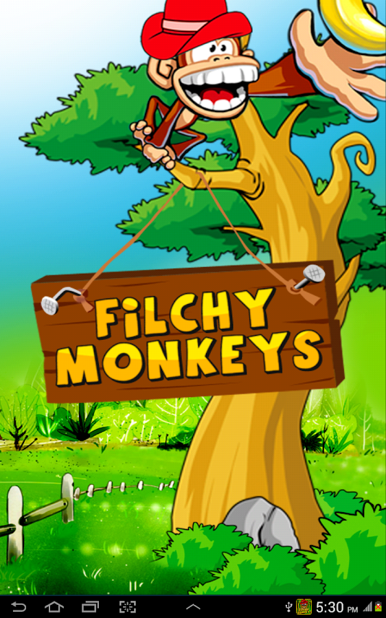 Filchy Monkeys Fun Monkey Game- screenshot