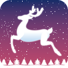 Rudolph Reindeer Christmas icon
