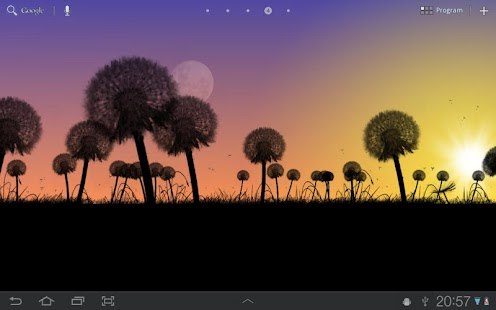 Dandelions Free Live Wallpaper- screenshot thumbnail