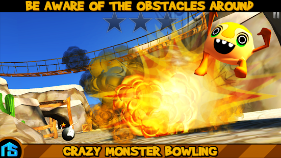 Crazy Monster Bowling- screenshot thumbnail