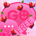 Valentine Heart for GO SMS Pro icon