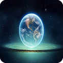 3D Earth icon