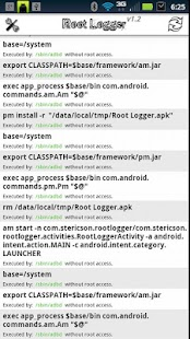 Root Logger- screenshot thumbnail