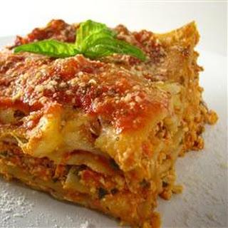 Tofu Lasagna.