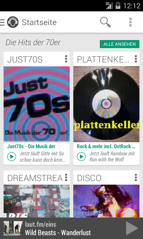laut.fm Radio - screenshot