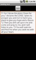Screenshot of Seeking God FlashCards