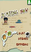 Screenshot of jumping now_게임