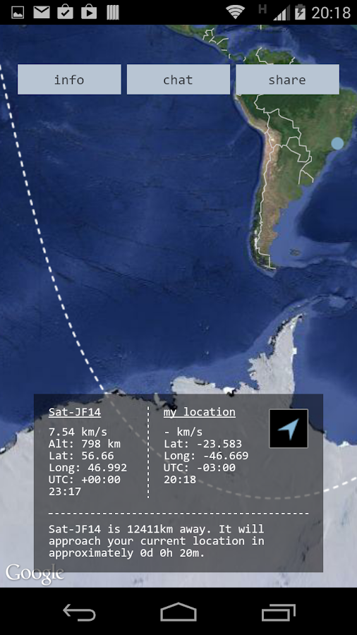 Sat-JF14 - screenshot