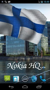 3D Finland Flag Live Wallpaper- screenshot thumbnail