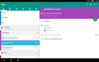 Screenshot of OpenTasks