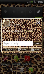 How to download Leopard GO SMS Pro theme lastet apk for android