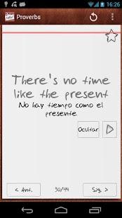 Aprende inglés con tarjetas - screenshot thumbnail