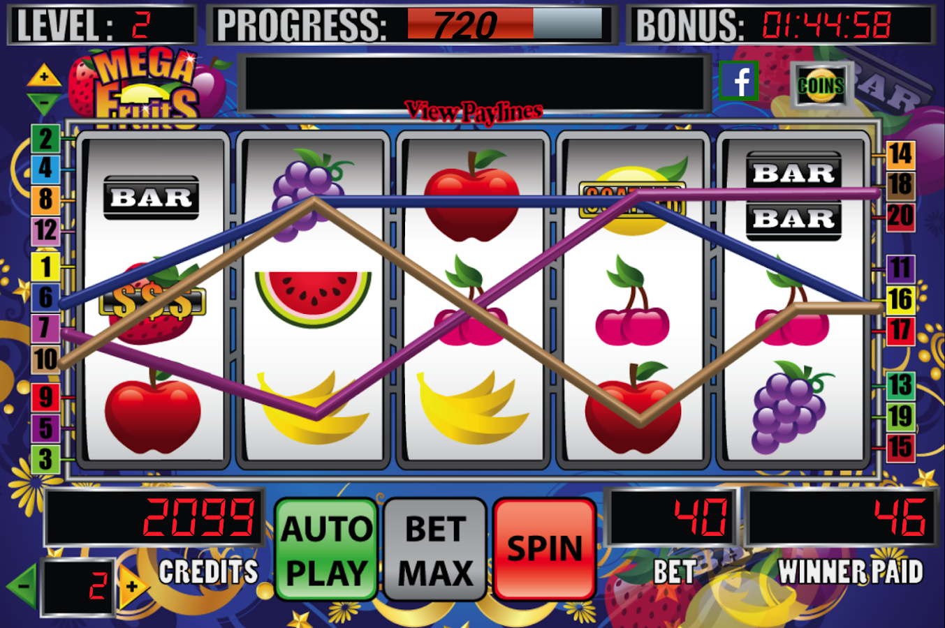 mega bonus slot machine download
