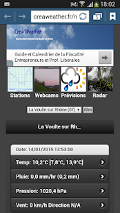 Cre@'Weather Live- screenshot thumbnail