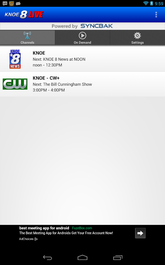 KNOE 8 LIVE - screenshot