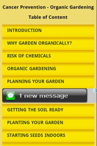 Organic Gardening Avoid Cancer